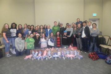 SCC's Upward Bound students give back