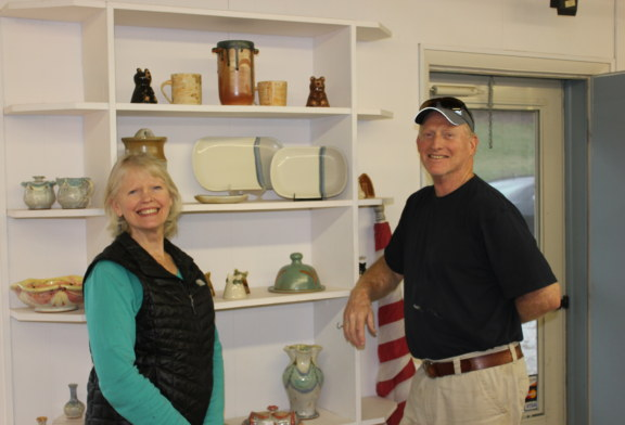SCC student, instructors have pottery chosen for exhibit at NC Welcome Center