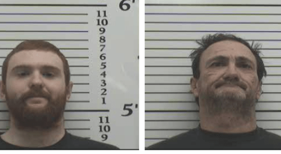 Father and Son Charged with Burglary and Filing False Report