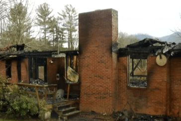 Waynesville Home A Total Loss in Fire