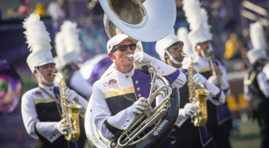 WCU's Pride of the Mountains Marching Band plans to dazzle with new performance