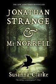 Jonathan Strange & Mr Norrell. NOT my cover, unfortunately. It's lovely.