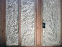 Spray foam Insulation for wall fill