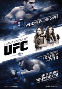 ROUSEY VS TATE