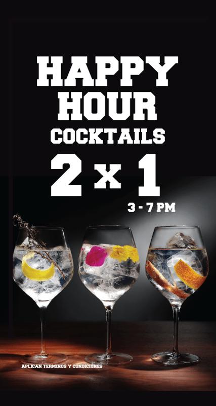 Happy Hour 2x1