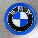 (BMW)E-DRIVE車用ブルーリングホイールセンターキャップ