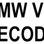 (Tech_INFO)BMW VIN DECODE