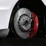 M sport brake red. for BMW F87 M2 (F87, F87 Competition)