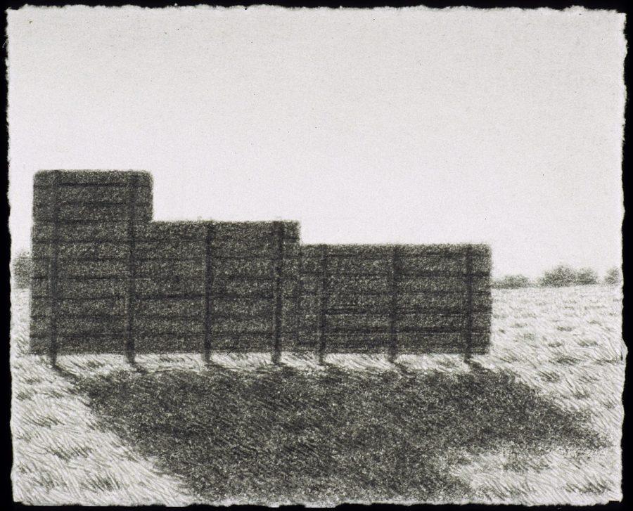 Scott Espeseth | Wall | graphite on paper