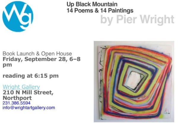 Up Black Mountain- 14 poems and 14 paintings