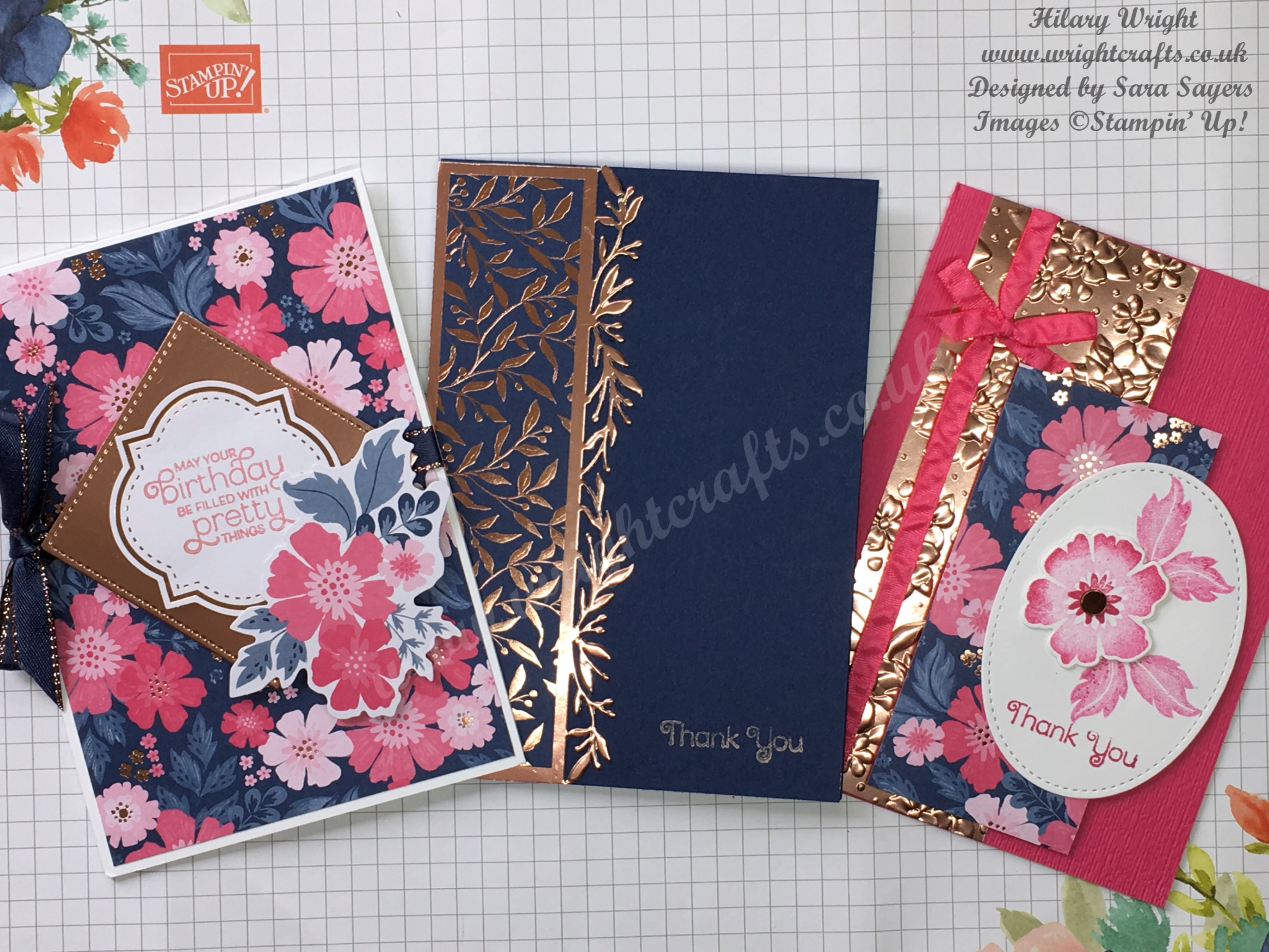 Everything is Rosy - Last chance - Wright Crafts