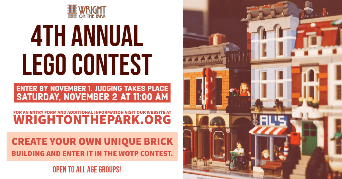 4th Annual Lego Contest | Wright on the Park