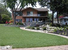 Landscape Design Build Example - from Wright's Landscape