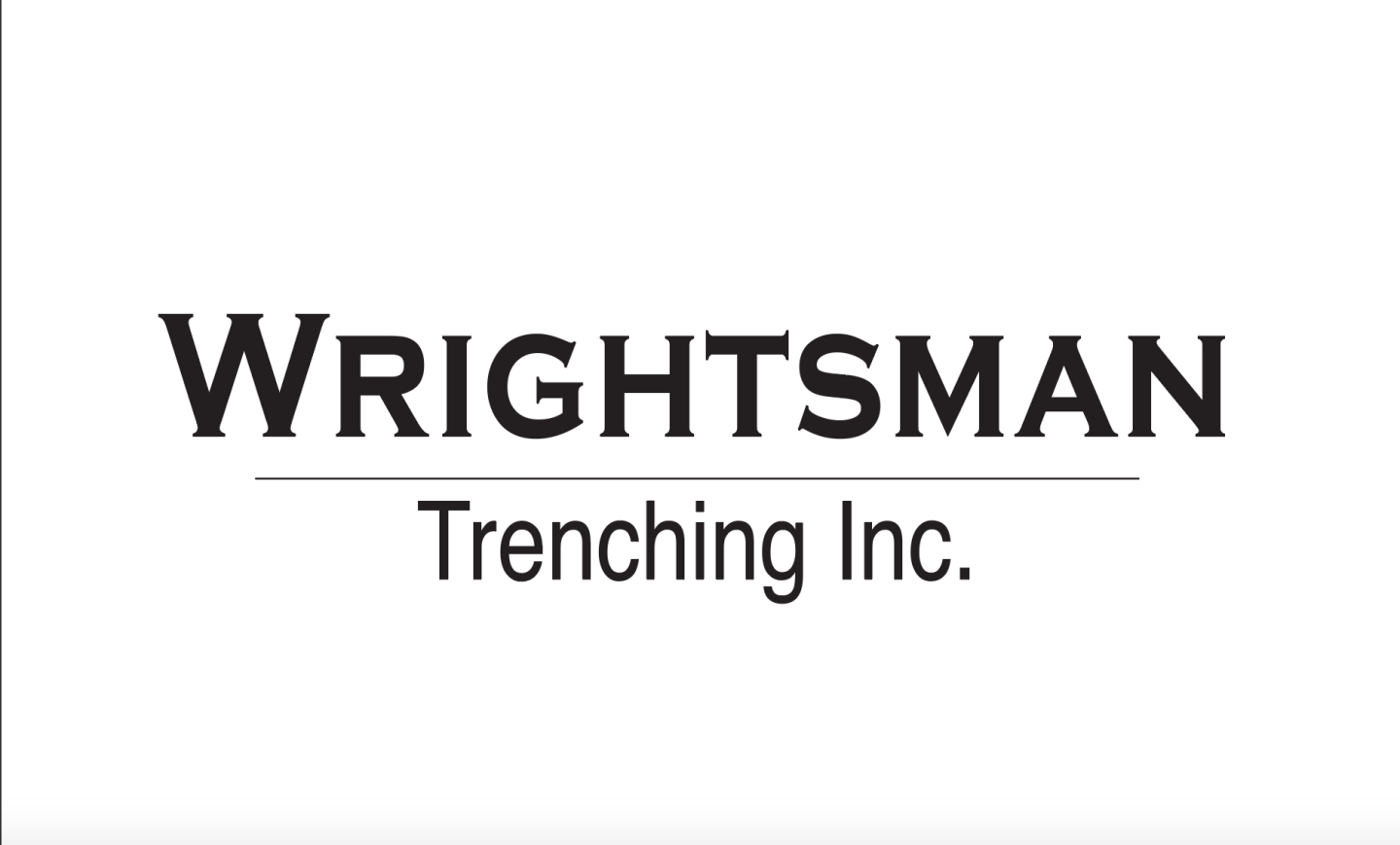Wrightsman Trenching of Beatrice, Nebraska serving Southeast Nebraska for excavation and demolition needs.