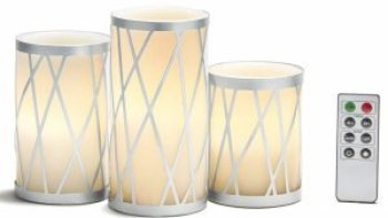 flameless candles | white with remote