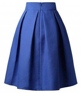 Pleated Midi Skirt | high waisted back