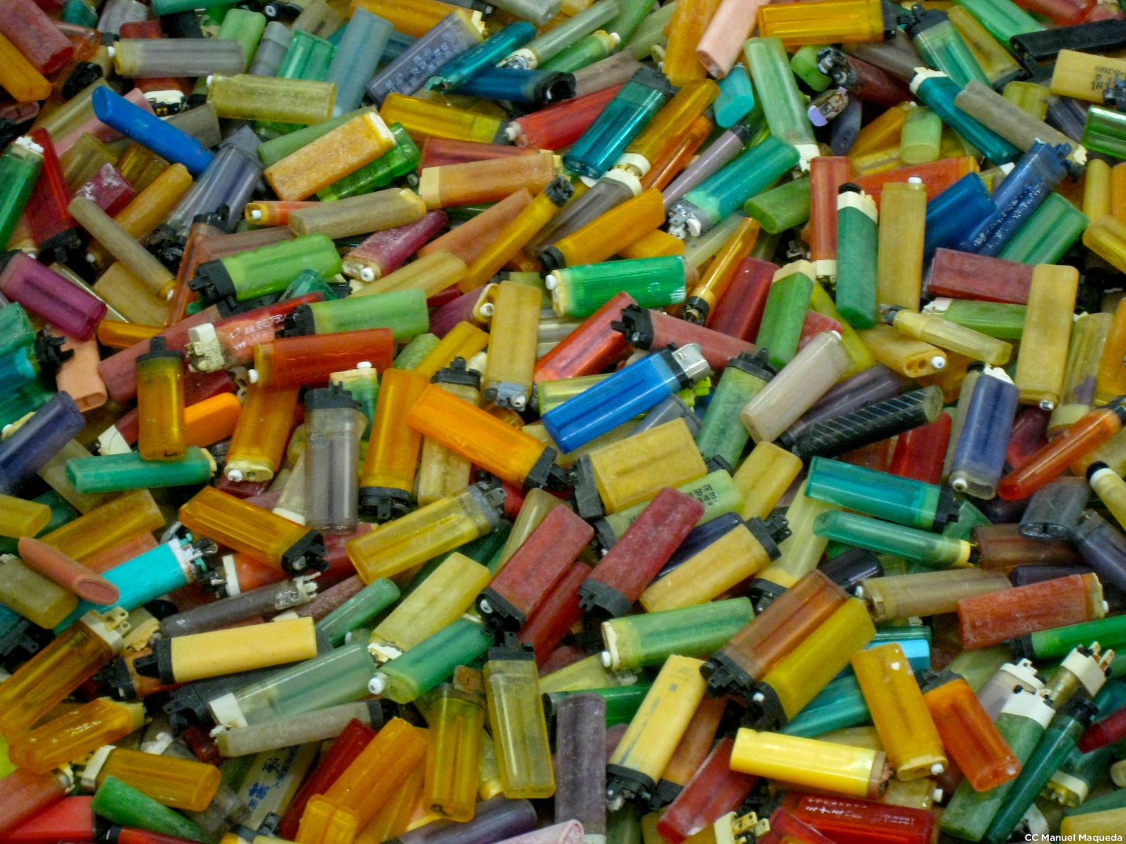 <p>Plastics pose a particularly tough challenge. (Flickr/Plastic Pollution Coalition)</p>