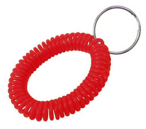 transparent Red wrist coil