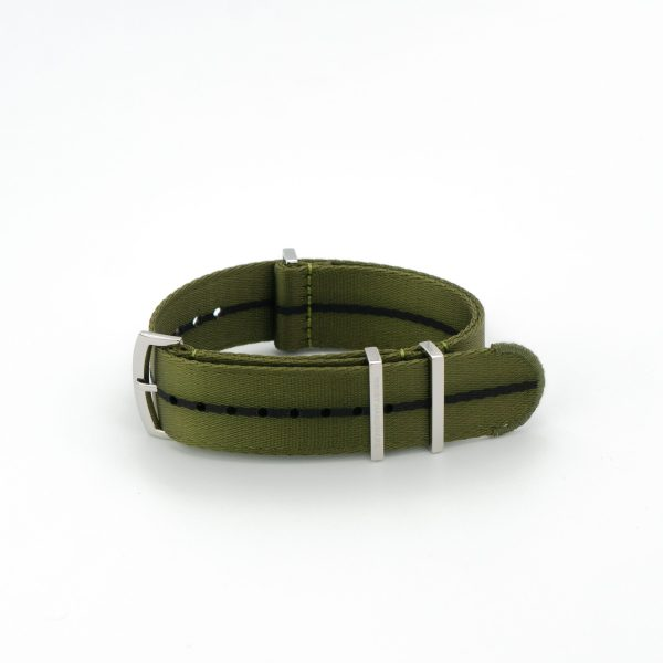 Guerrilla-Green-Loops-solid-steel-wrist-hardware-nylon-watch-strap-military-polyamide-fabric-replacement-band
