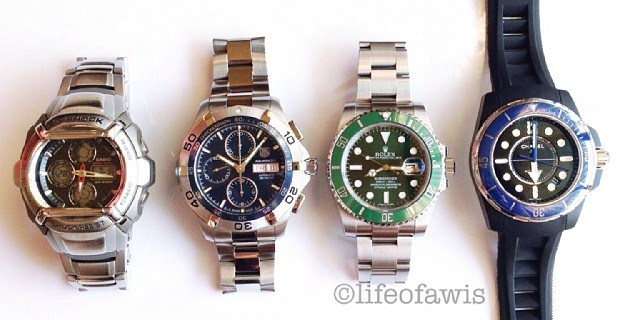 Four Special Watches