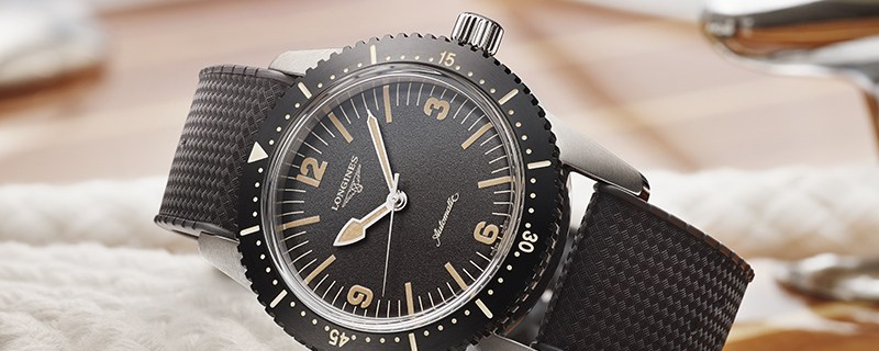 Longines is introducing The Longines Skin Diver Watch