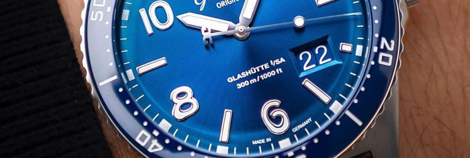 Glashütte Original SEA Q Panorama Date by HorologyHouse