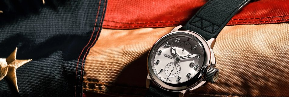 The return of the Waltham Field & Marine trench watch