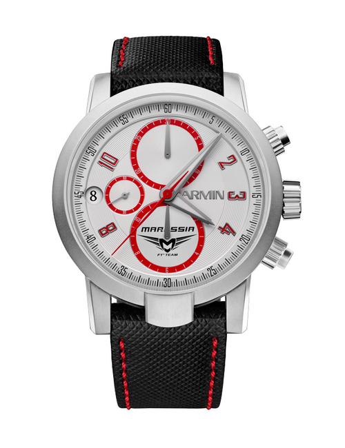 Armin-Racing-Chronograph-White