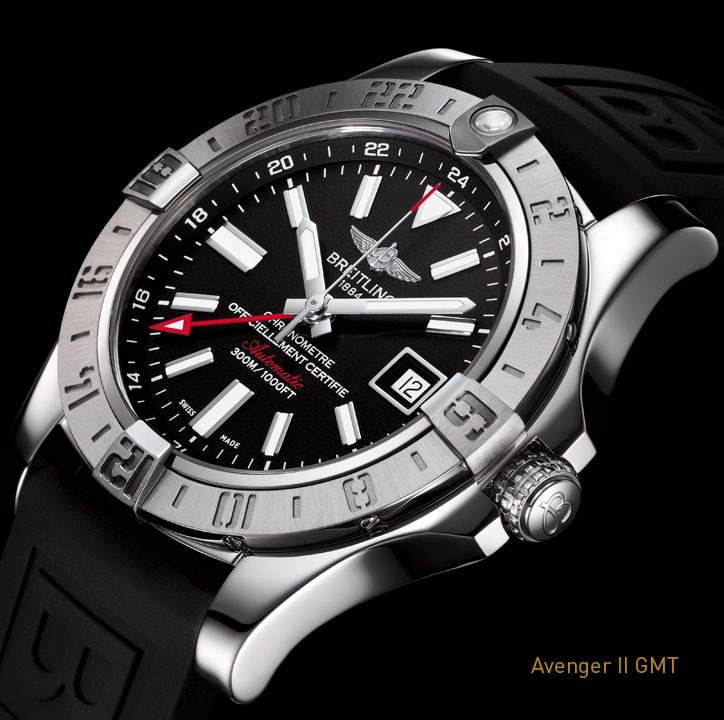 Breitling-avenger-II-GMT