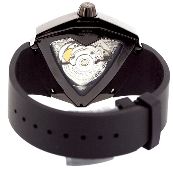 Back of Hamilton Watch