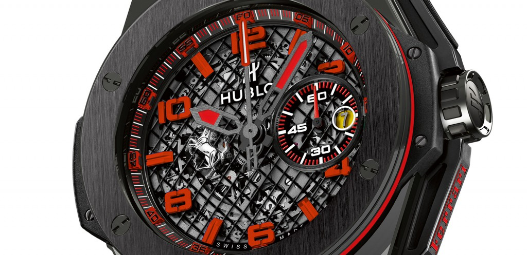 Hublot Big Bang Ferrari Black Ceramic 2015