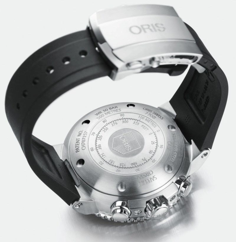 01 774 7708 4154-Set RS - Oris Aquis Depth Gauge Chronograph