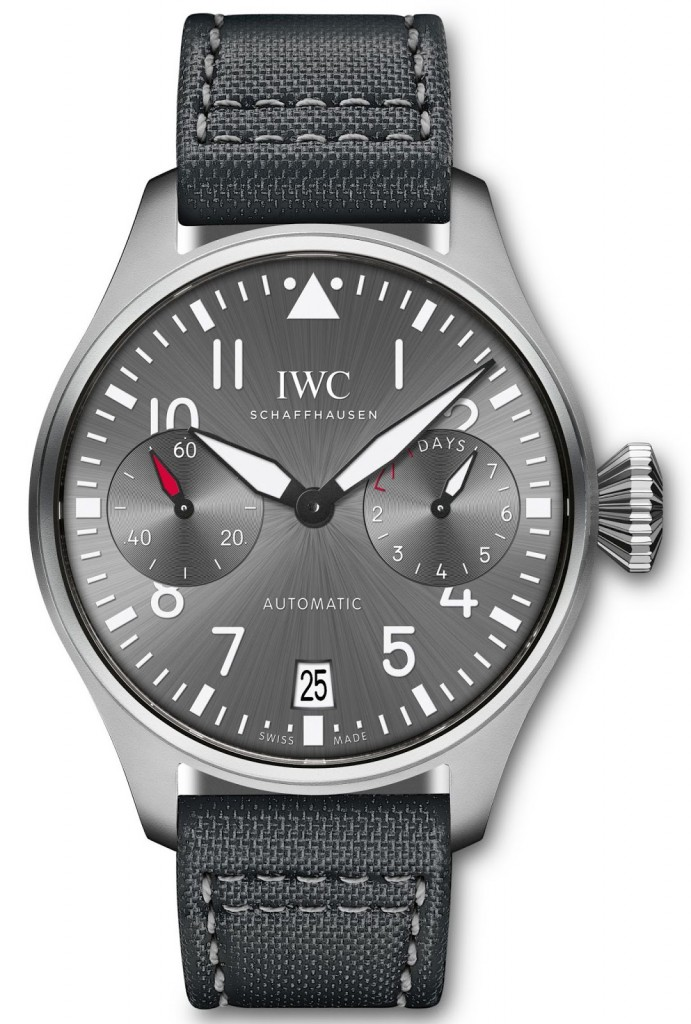 "IWC Schaffhausen Big Pilot's Watch Edition ""Patrouille Suisse"" (Ref.IW500910) 2 (1)"