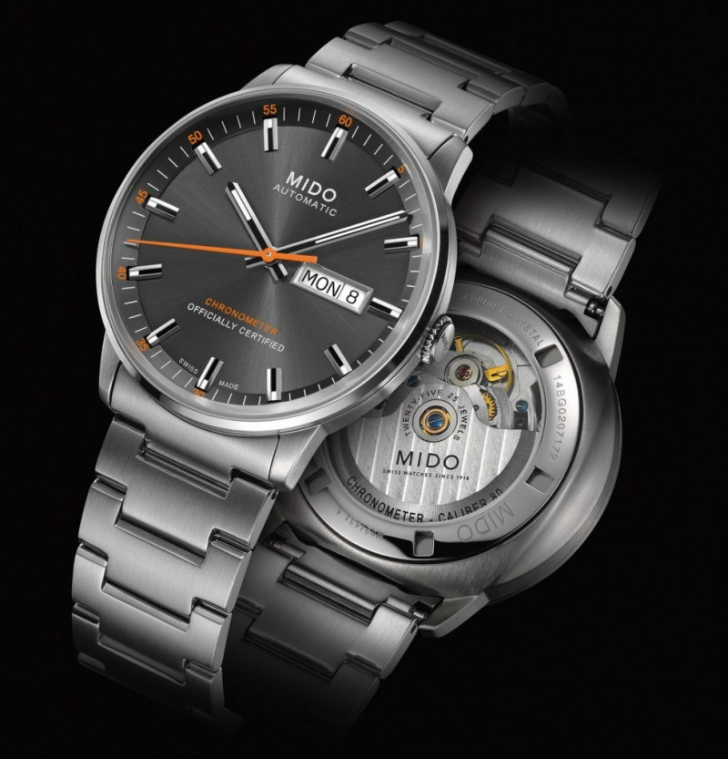MIDO COMMANDER CALIBER 80 CHRONOMETER 1