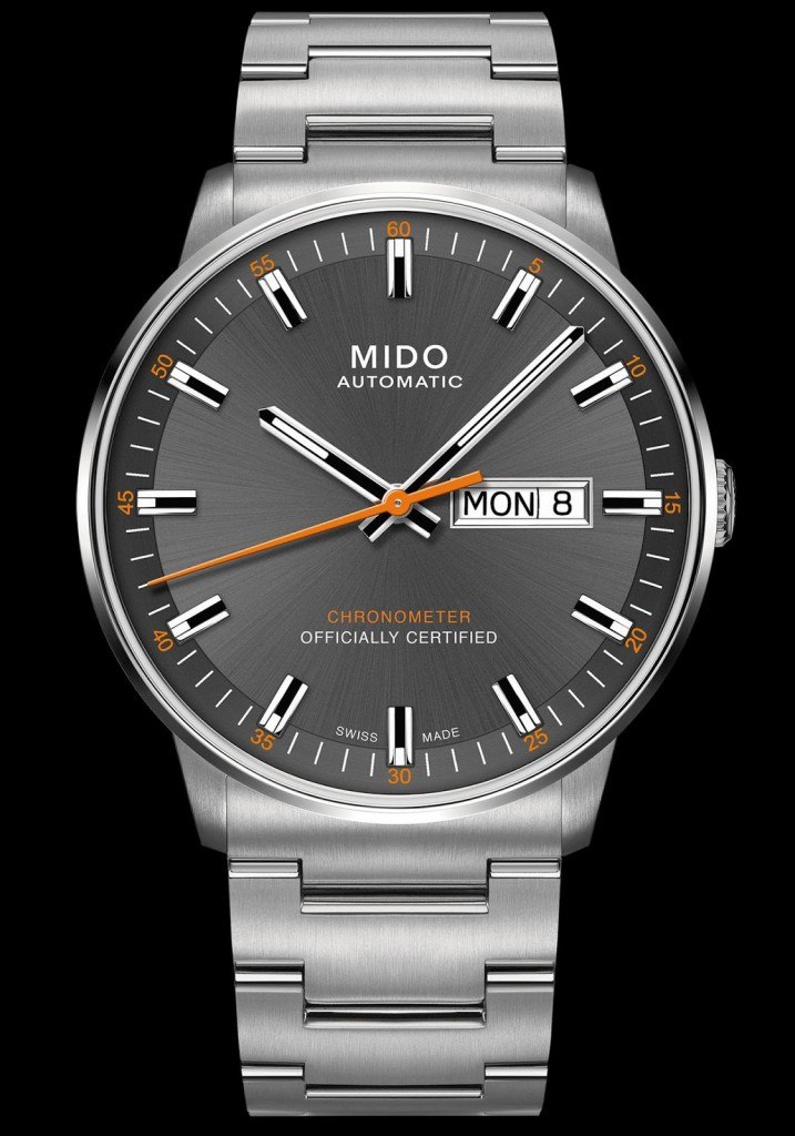 MIDO COMMANDER CALIBER 80 CHRONOMETER 2