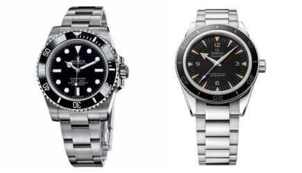 20594fd5a95 Clash of The Divers: Rolex Submariner Watch vs Omega Seamaster 300 Master  Co-Axial Watch