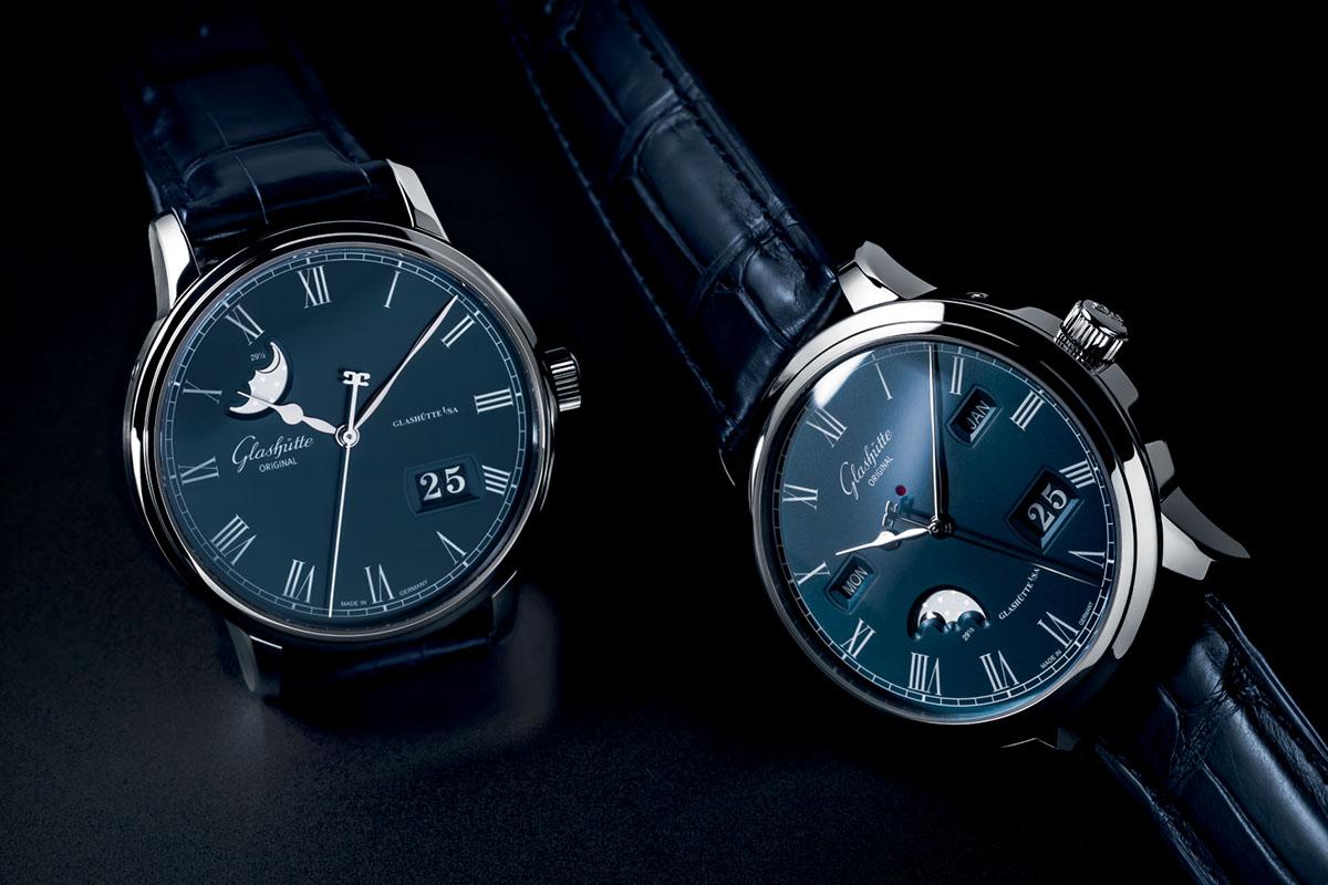 Glashutte-Original-Senator-Boutique-Edition-Blue-Dial-couple