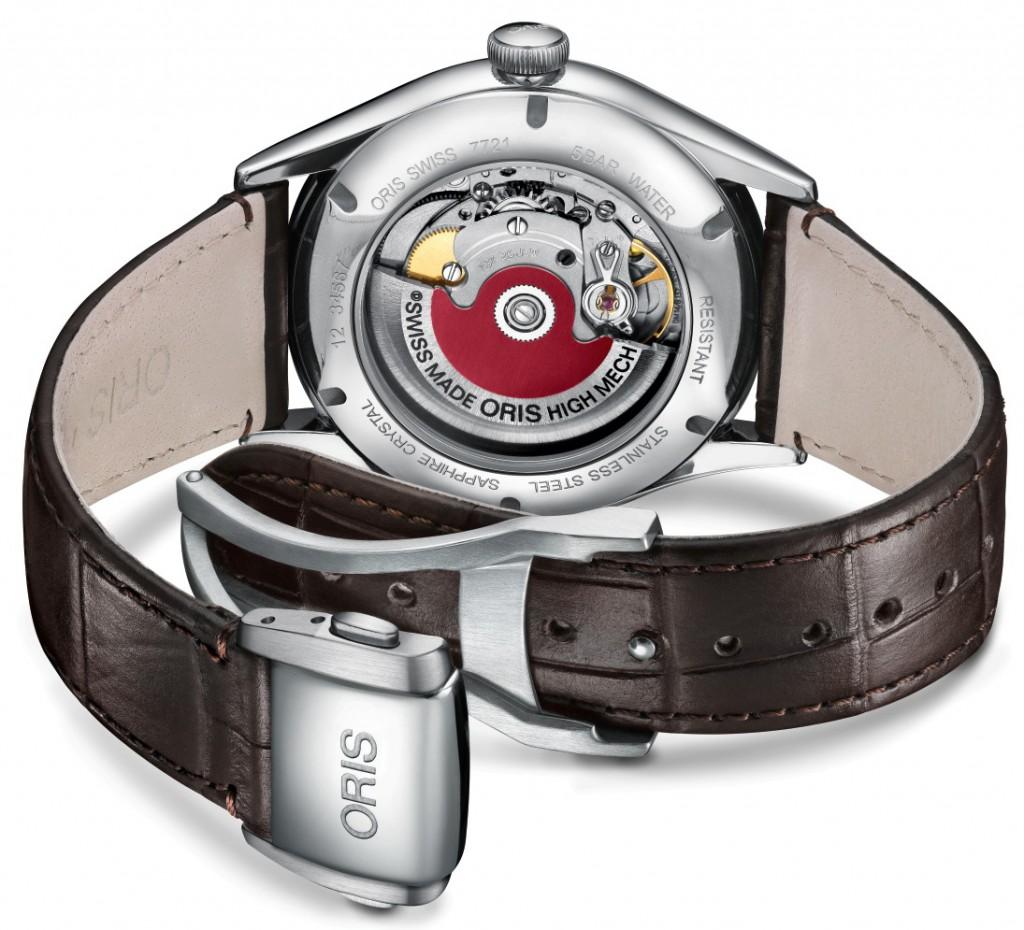 01 737 7721 4031-07 5 21 65FC - Oris Artelier Date Chronometer
