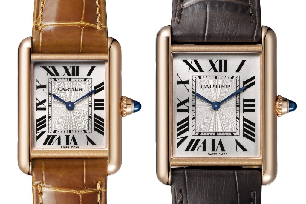Cartier Tank Louis Cartier 100th Anniversary Watches Among the new novelties  there are three new gold versions of the Tank  Louis Cartier  a timepiece which first saw the light way back in 1922 and  went onto
