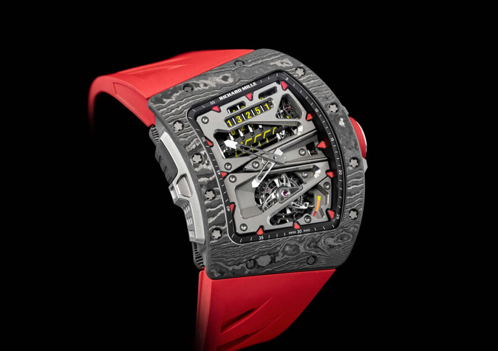 Richard Mille Rm 70 01 Tourbillon Alain Prost Cycling Watch