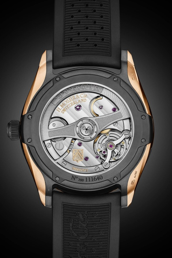 H-Moser-Cie-Pioneer-Centre-Seconds-Red-Gold-DLC-Case-and-Blue-Fume-Dial-1
