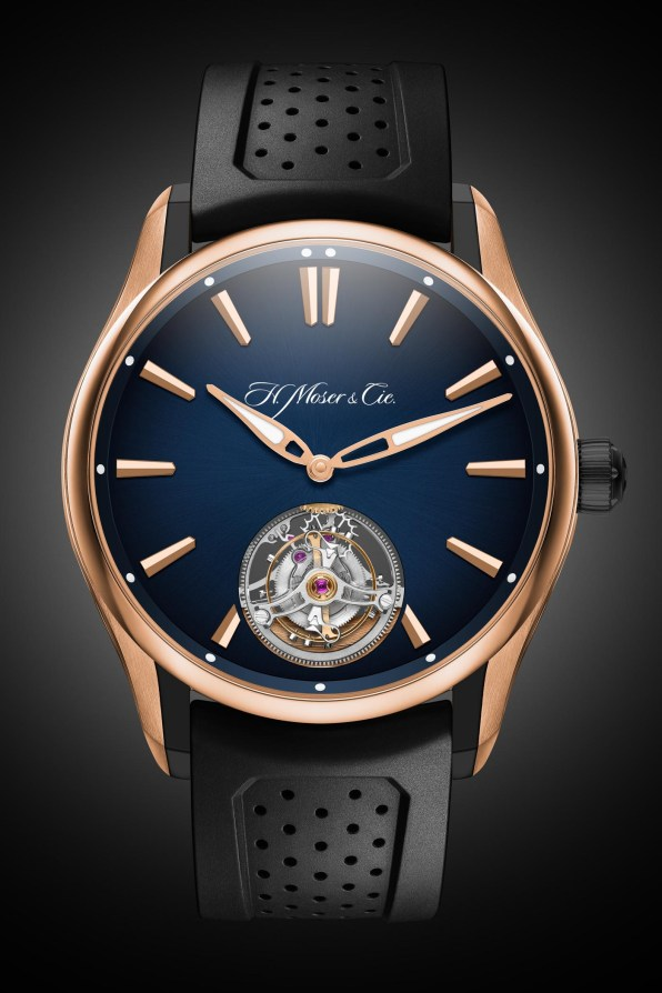 H-Moser-Cie-Pioneer-Tourbillon-Red-Gold-DLC-Case-and-Blue-Fume-Dial-2