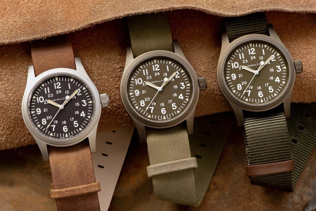 Introducing The Hamilton Khaki Field Mechanical 38mm Watches