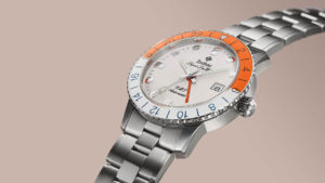 "Zodiac Super Sea Wolf GMT ""Sherbet"" Limited Edition Watch"