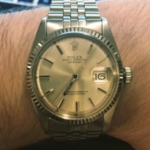 Second-hand Rolex Datejust 1601