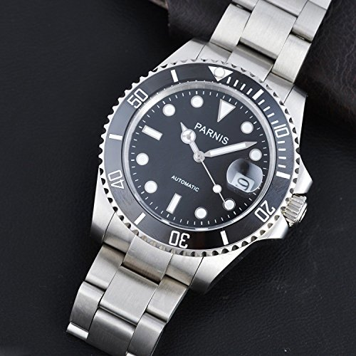 Parnis Submariner James Bond Watch