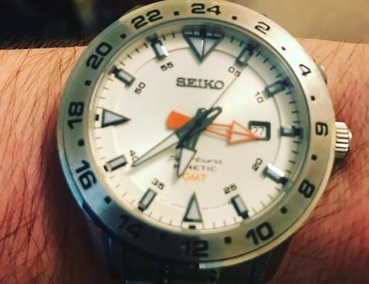 Seiko Sportura SUN025 GMT