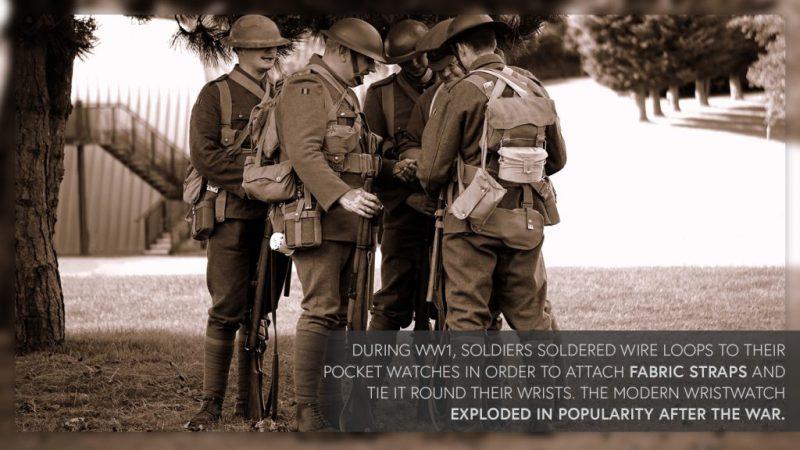 World War 1 Pocket Watches