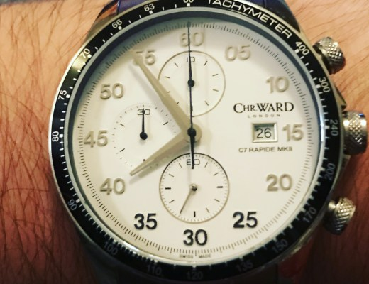 Christopher Ward C7 Rapide Chronograph
