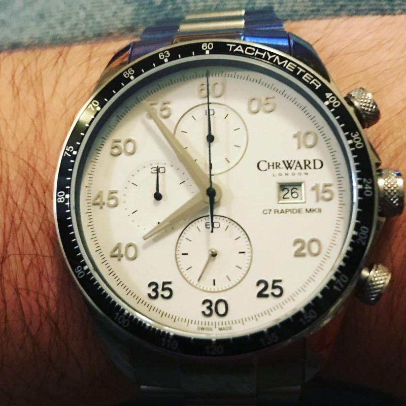 Christopher Ward C7 Rapide Chronograph